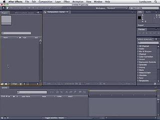 Adobe After Effects CS4 Tutorial 28 - Layers Scratch