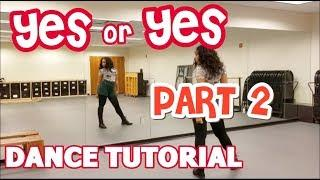 """TWICE """"YES or YES"""" - DANCE TUTORIAL PART 2!!"""