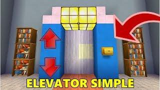 CARA MEMBUAT ELEVATOR/LIFT CANGGIH DI MINI WORLD BLOCK ART | TUTORIAL MINI WORLD #1
