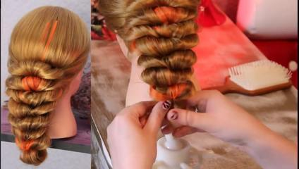Wrap Around Hair Tutorial