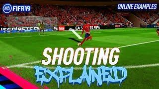 NEW SHOOTING ACCURACY EXPLAINED!! - Fifa 19 Finishing Tutorial - How To Be Accurate