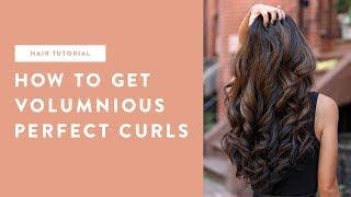 Hair tutorial: How to get the perfect curls with volume