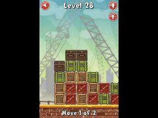 Move the Box Boston level 28 walkthrough Lösungen Android IPhone Ipad gameplay tutorial