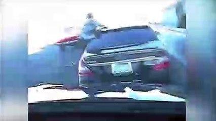 Un policier manque de peu de se faire écraser par un conducteur ivre
