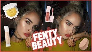 FENTY BEAUTY BY RIHANNA | MAKEUP TUTORIAL + FIRST IMPRESSIONS | atleeeey