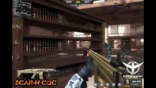 Tutorial SCAR H CQC BY STARTOS [ Point Blank THAI ]