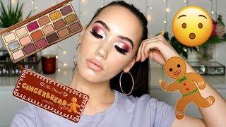 TOO FACED GINGERBREAD SPICE PALETTE! REVIEW, SWATCHES + TUTORIAL | MAKEMEUPMISSA