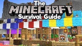 Building a Medieval Marketplace! ▫ The Minecraft Survival Guide (Tutorial Lets Play) [Part 79]
