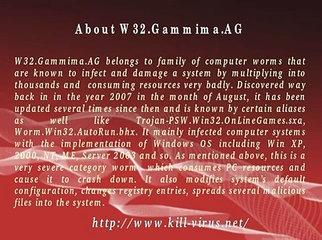 Remove W32.Gammima.AG - Effective Tutorial to Delete W32.Gammima.AG