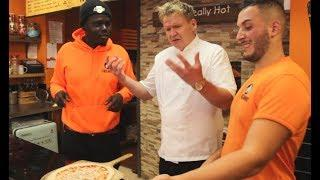 How to Make a Pizza Tutorial with Man Like Gordon Ramsay