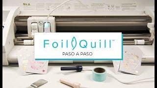 Foil Quill. Tutorial paso a paso.
