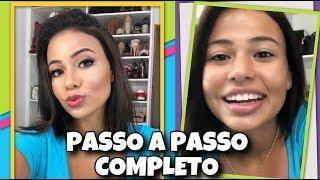 Tutorial de Maquiagem completo + Bate papo AO VIVO  | Esposa aos 17 por Gabi Magsan