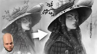 How To Draw Colors In Black & White? - Overpaint Tutorial