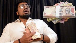 Indian Currency | Modi Ji hits hard at black money | Funny Video