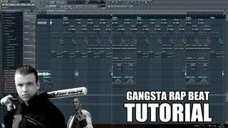 GANGSTA RAP BEAT TUTORIAL: GERMAN/DEUTSCH FL STUDIO 10 (HOW TO MAKE A HIP HOP BEAT)