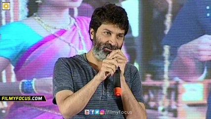 Trivikram Funny Comments on Srinivas Reddy - Filmyfocus.com