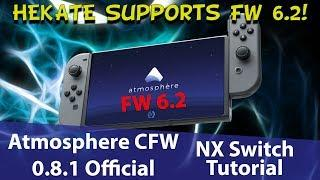 How to Hack Firmware 6.2 Nintendo Switch - Hekate and Atmosphere CFW Tutorial (Homebrew Menu)