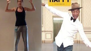 Pharrell Williams 'HAPPY' Dance Tutorial