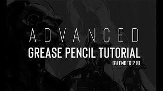 Blender Grease Pencil 2.8 Tutorial (Trailer)