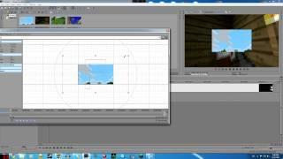 Sony Vegas Tutorial - Split Screen For Minecraft (Danish)