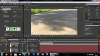 After Effect  Cs6 Tutorial - Video Effect Lock Camera [Thai]