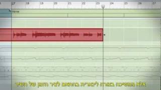 Reason Record Micro Tutorial - Blocks With Hebrew Subtitles