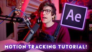 Motion Tracking in After Effects CC Tutorial - Quick & Easy! GIL HARMON TECH TUTORIALS