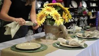 How To Decorate A Table With A Galvanized Bucket : Table Designs