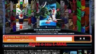 SD Gundam Tutorial Brasileiro 1: Como Criar Uma Conta