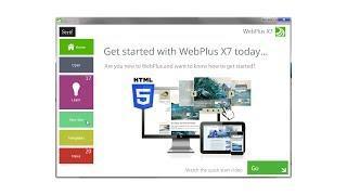 Serif WebPlus X7 Tutorial - Quick Start!
