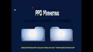 Tutorial PPD Marketing Nederlands | PPD Internet Marketing | Leer Hoe Paid Per Download Marketing