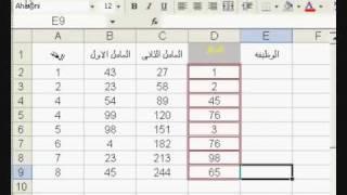 تعليم ICDL برنامج الإكسل الدرس الرابع رقم 2