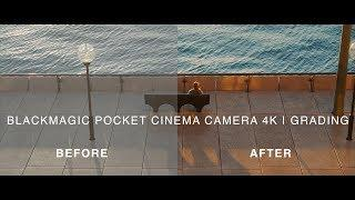 BMPCC4K | Grading Tutorial | How we grade our Blackmagic Pocket Cinema Camera 4K videos (4K)