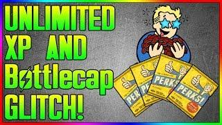 Fallout 76 - NEW UNLIMITED XP / Bottlecap Glitch! After Patch! (In Depth Tutorial)