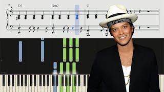 Bruno Mars - When I Was Your Man - Piano Tutorial