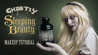 Ghastly Sleeping Beauty: Make Up Tutorial / Upiorna Śpiąca Królewna : Make Up Tutorial