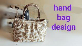 hand purse making at home || hand bag tutorial