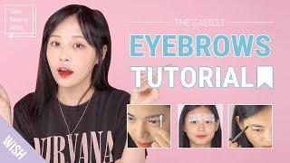 The Ultimate Eyebrows 101 | The Easiest Brows Tutorial for Beginners | Teen Beauty Bible