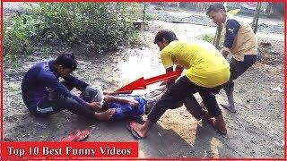 Top 10 Best Funny Videos Amazing Funny Videos |Try Not To Laugh Challenge For Kids |All In One Tv bd