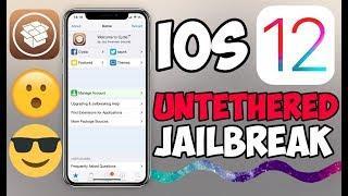iOS 12 UNTETHERED Jailbreak Tutorial - How to Jailbreak iOS 12