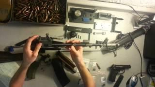 Bulgarian AK-74 Parts Kit Build Part:6