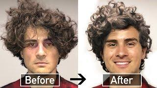 BEST CURLY HAIR TUTORIAL for STRAIGHT MEN