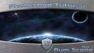 Tutorial Photoshop CS5 - (4) Rum Scene 1/2 [Danish]