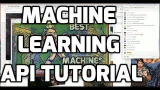 Machine Learning API Tutorial (LIVE)