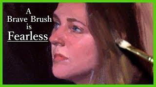 Portrait Painting Tutorial | The Brave Brush - Zorn Palette