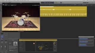 Logic Pro X Deutsch - Der Drummer (1/2) - Logic X Tutorial 2  - LogicX