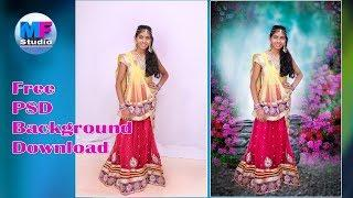 Photoshop cc Tutorial | Easy Background change And free PSD background