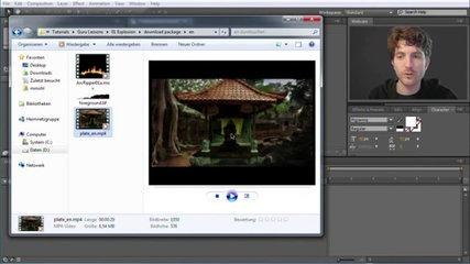 Adobe After Effects Tutorial. (Lesson 2)