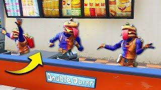 EPIC NEW *BURGER SKIN* TROLLING! - Fortnite Funny Fails and WTF Moments! #286