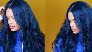 Giveaway Winner Announced! + Blue Hair Tutorial ft Ali Pearl (AliExpress) Hair